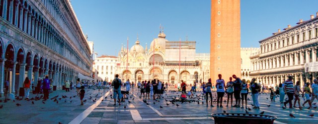 Saint Mark's Square @ Venice, Italy