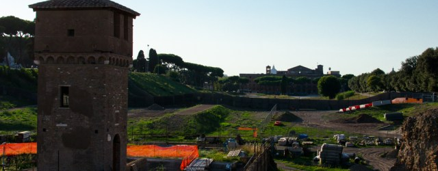 Watchtower @ Circus Maximus, Rome, Italy, Europe