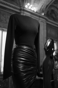 Azzedine Alaia - Leather Skirt @ Borghese Gallery, Rome, Italy