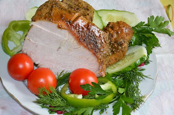 Cold Boiled Pork From Turkey In Multicooker Recipe | High Country Olive Oil