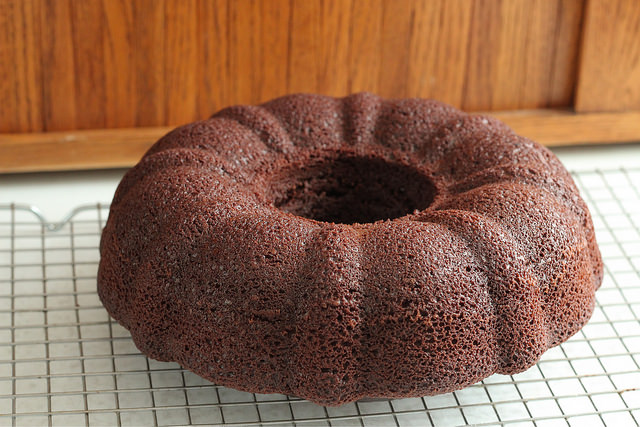 Chocolate Olive Oil Bundt Cake (adapted from Hershey's) | High Country Olive Oil