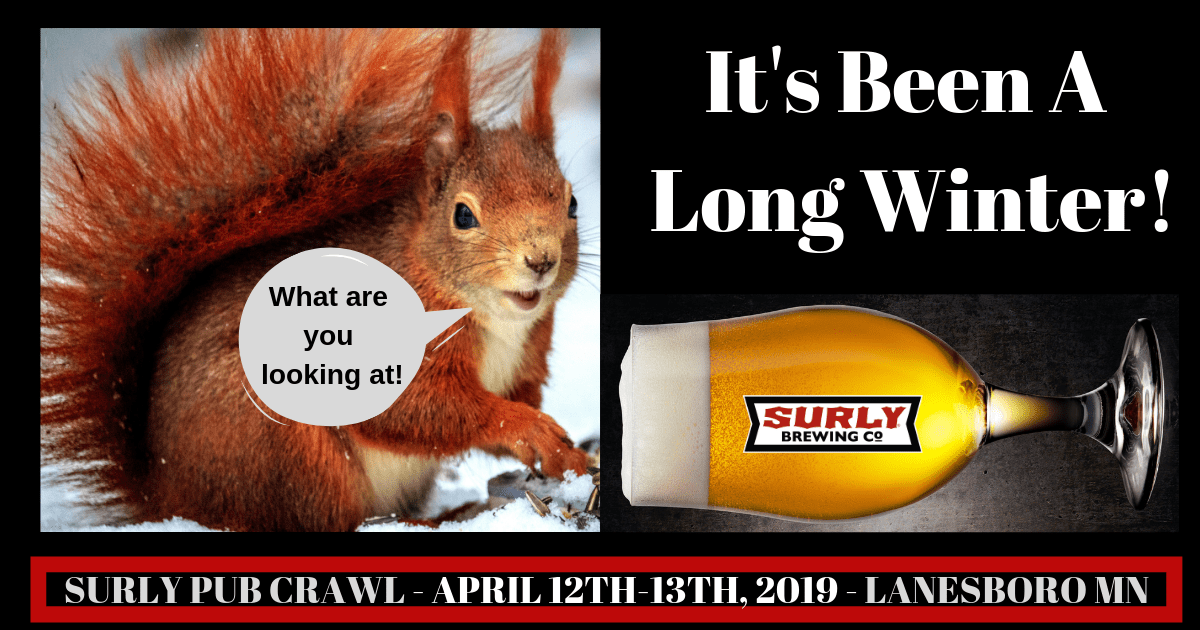 Lanesboro Surly pub crawl 2019