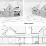 Old Town Historic Remodel Renderings With Garage Highcraft
