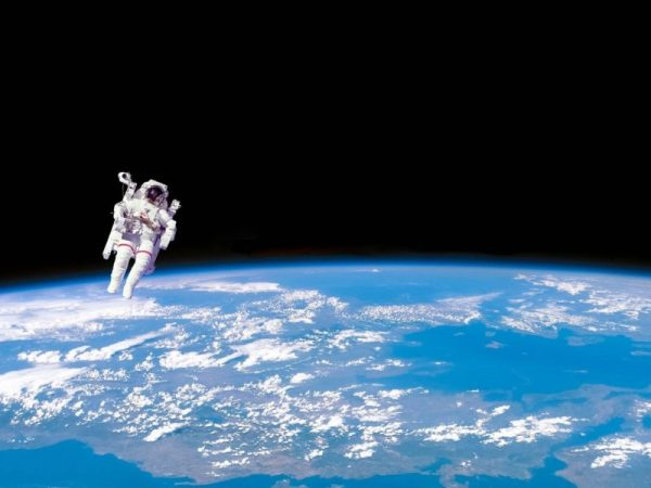 Astronaut In Space - High Definition Wallpaper