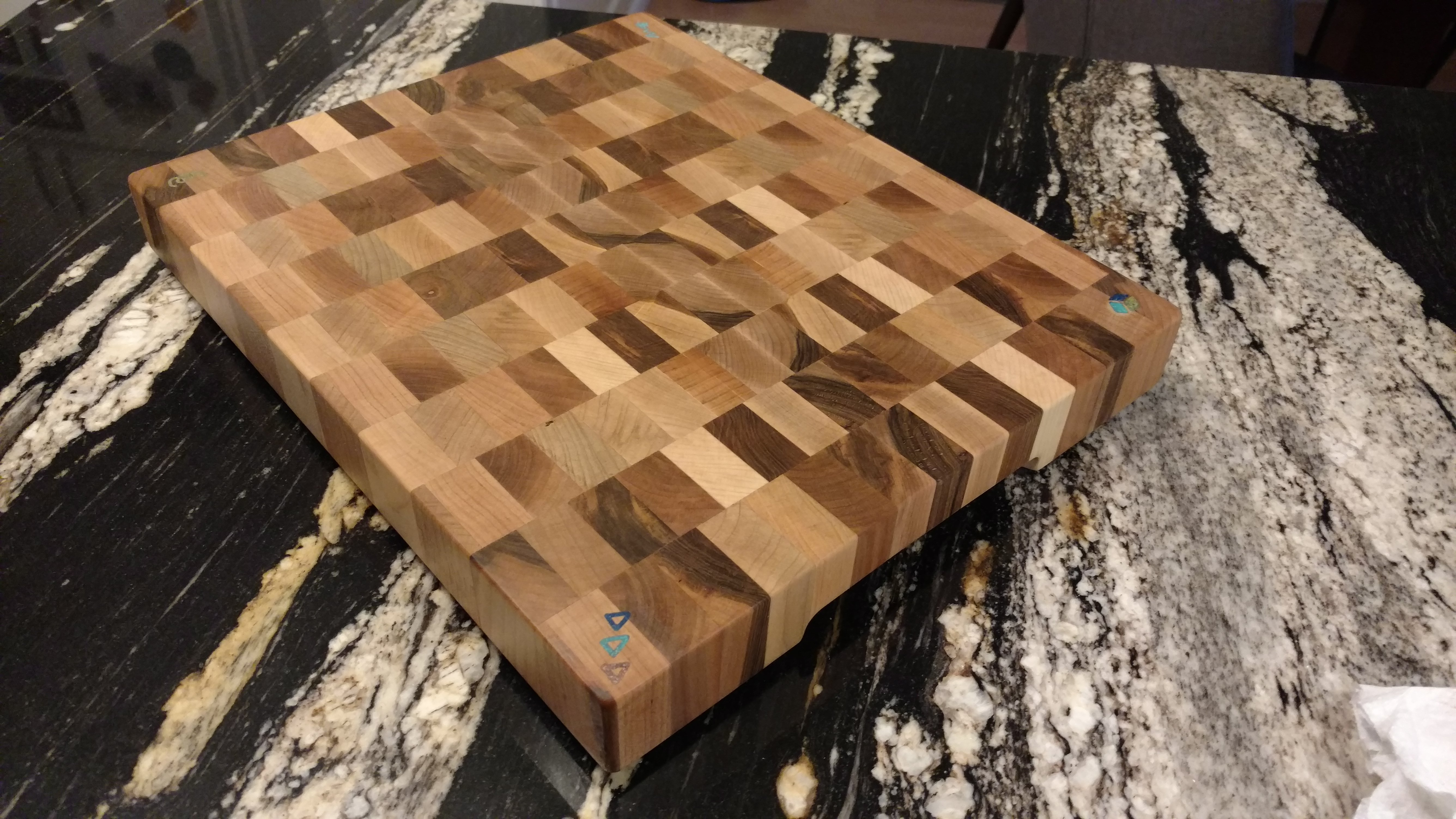 Elevation Woodwork : End grain cutting boards welcome to high elevation