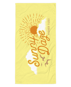 Sunny Daze Beach Towel