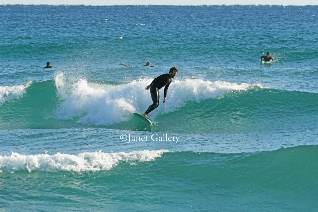 Long boarder surfing palm beach county FL