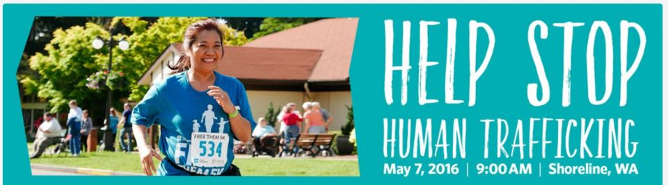 Join the World Concern Free Them 5K to help stop human trafficking