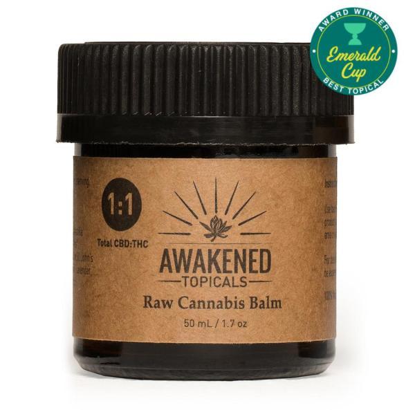 Raw Cannabis Balm