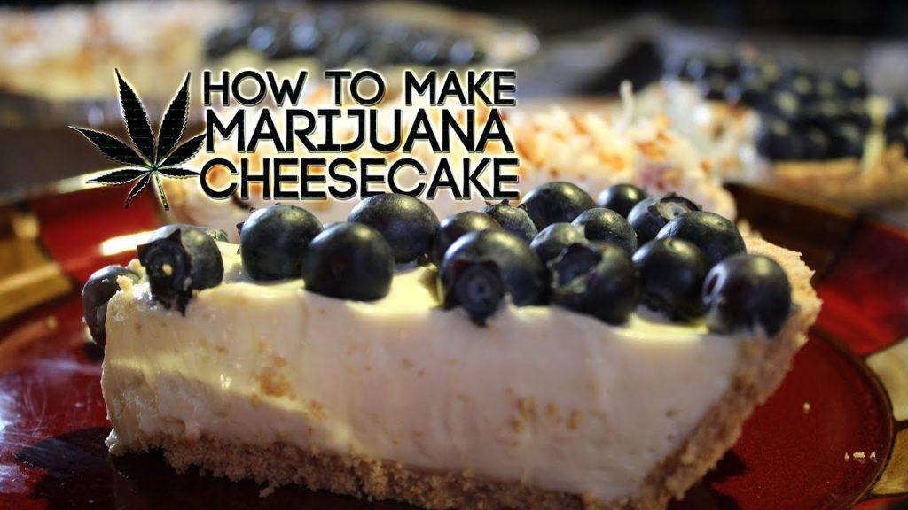 Indulge With This Marijuana Cheesecake Recipe
