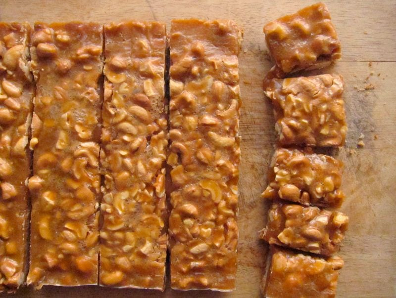 Cannabis Caramel Cashew Squares – A Great Party Dessert