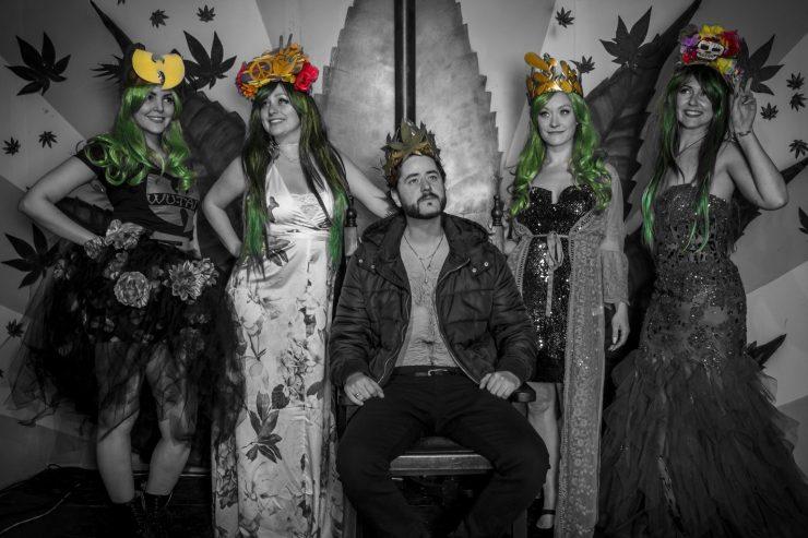 The High5 420 King via Nuda Media