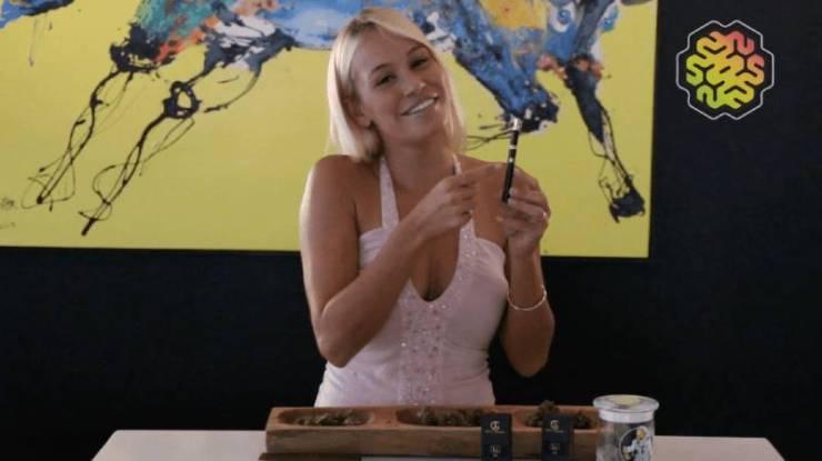 Portable Vaporizer Pen Review with Theresa Longo