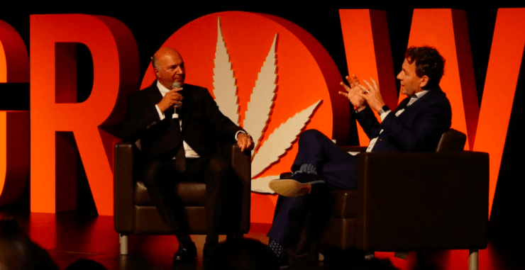 Kevin O'Leary Grow Up Conference and Cannabis Expo