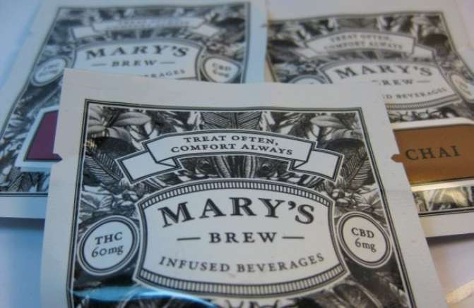 cannabis infused tea by marys
