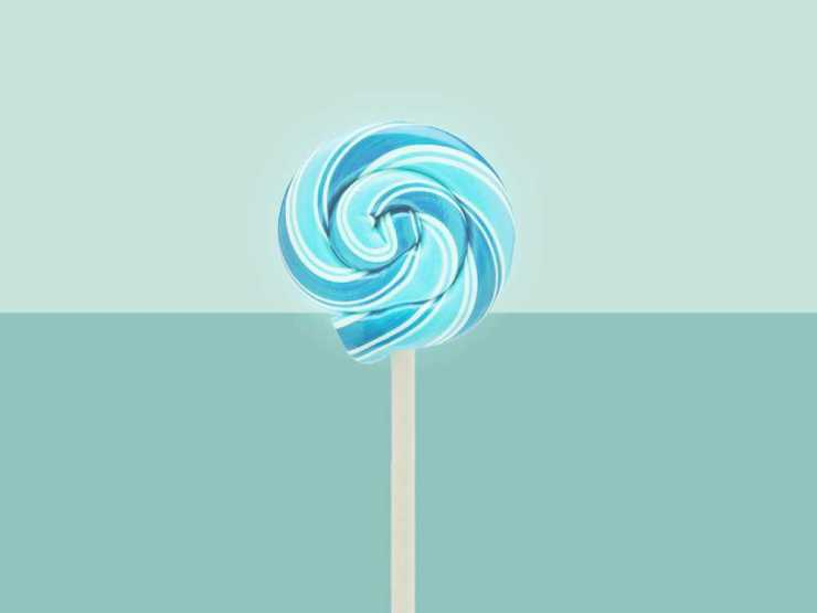 Blue Lollipop