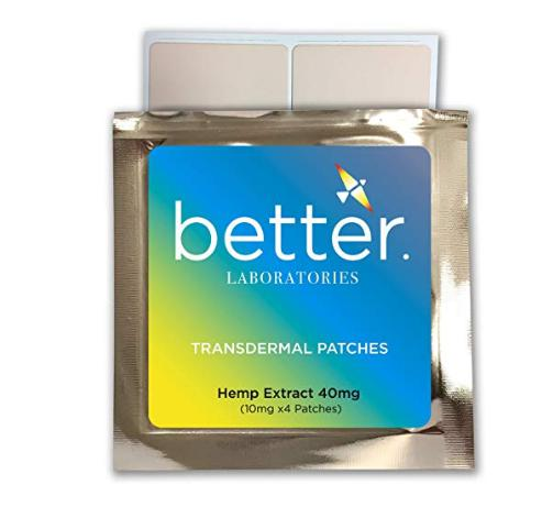 Hemp Extract CBD Patches