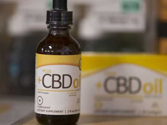 CBD Oil in the bottle