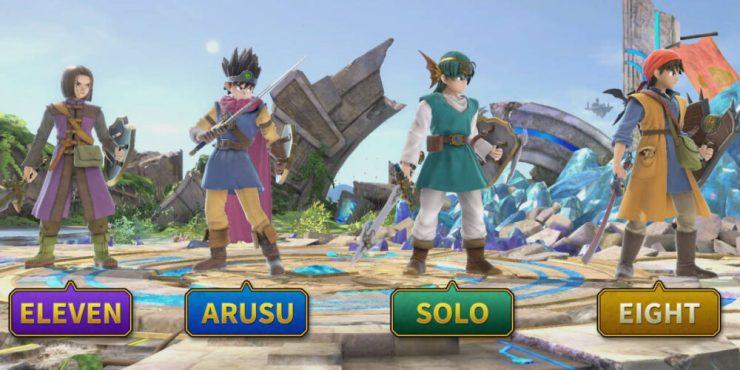 SSBU: Character Screen Capture