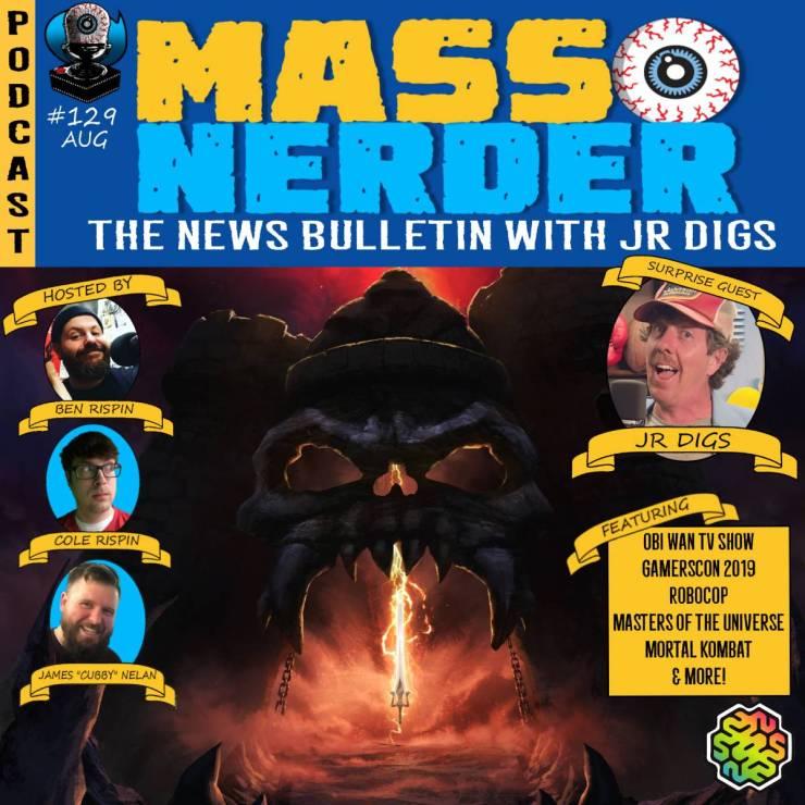 Mass Nerder – The News Bulletin with JR Digs