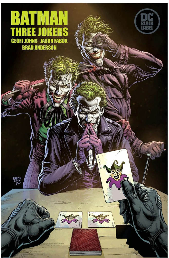 Writer Geoff Johns is gearing up for Three Jokers