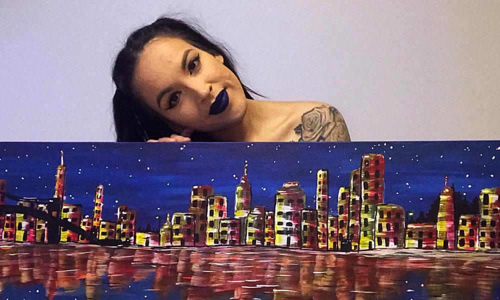 Featured Artist: Painter and Mental Health Advocate Nikki Schiedel