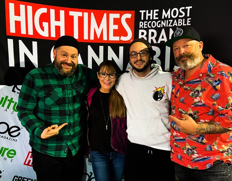 High Times CEO Stormy Simon gets Into The Weeds
