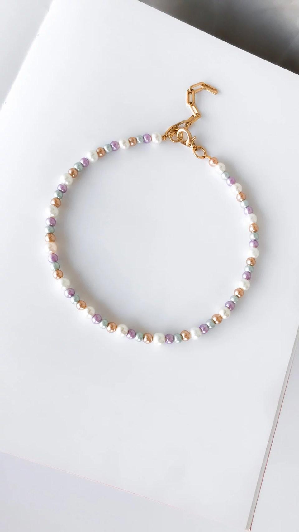 Colar Pearl Colorful