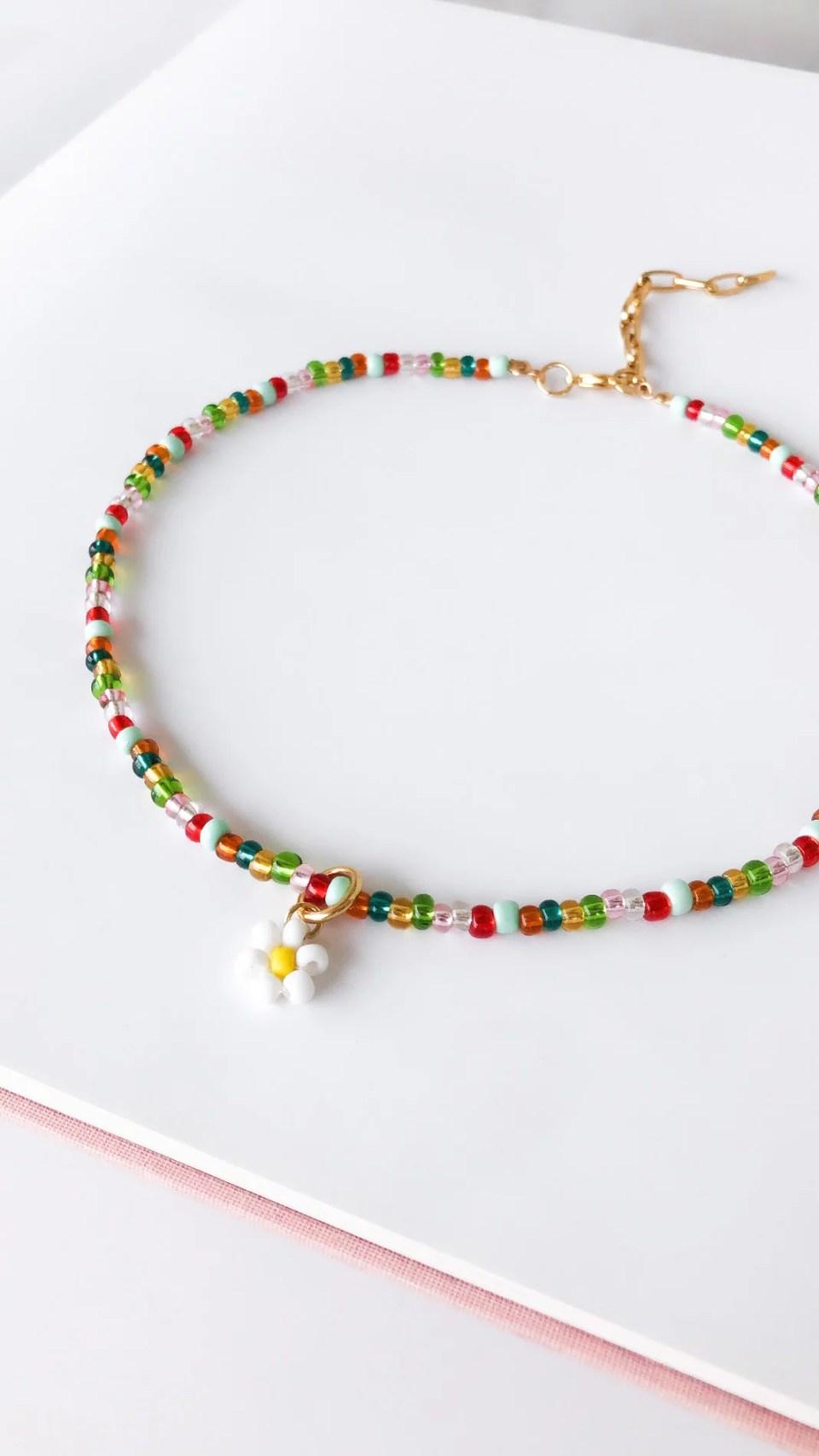 Colar Multicolor Daisy