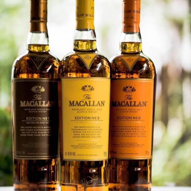 My collection of The Macallan Edition series all the wayhellip