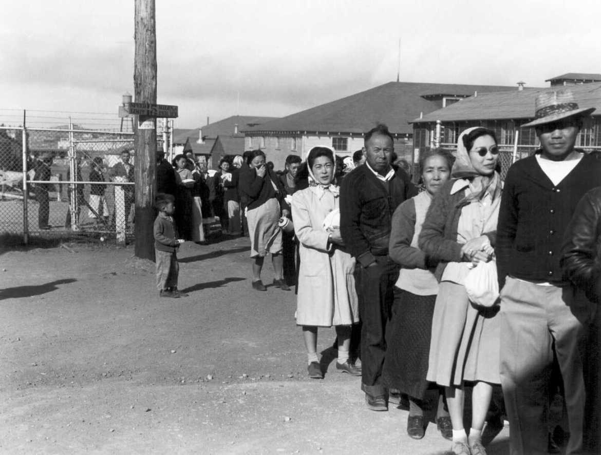 Image result for photos of japanese internment camps in us