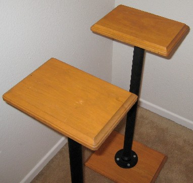 Diy Project Tnt Audio Stubby Speaker Stands Highfidelityreview Hi Fi Systems Dvd Audio And Sacd Reviews