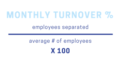 monthly turnover