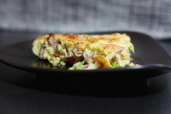 Omelett mit Wintergemüse