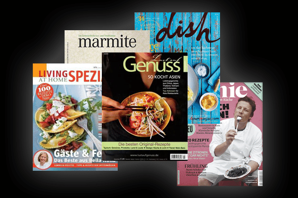 Meine Top 5 der Food-Magazine [Update]