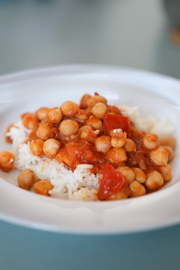 Kichererbsen-Curry Chana Masala