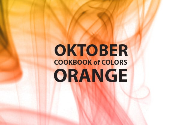 Cookbook of Colors: Oranger Oktober