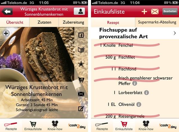 App-Review: Rezepte für den Römertopf