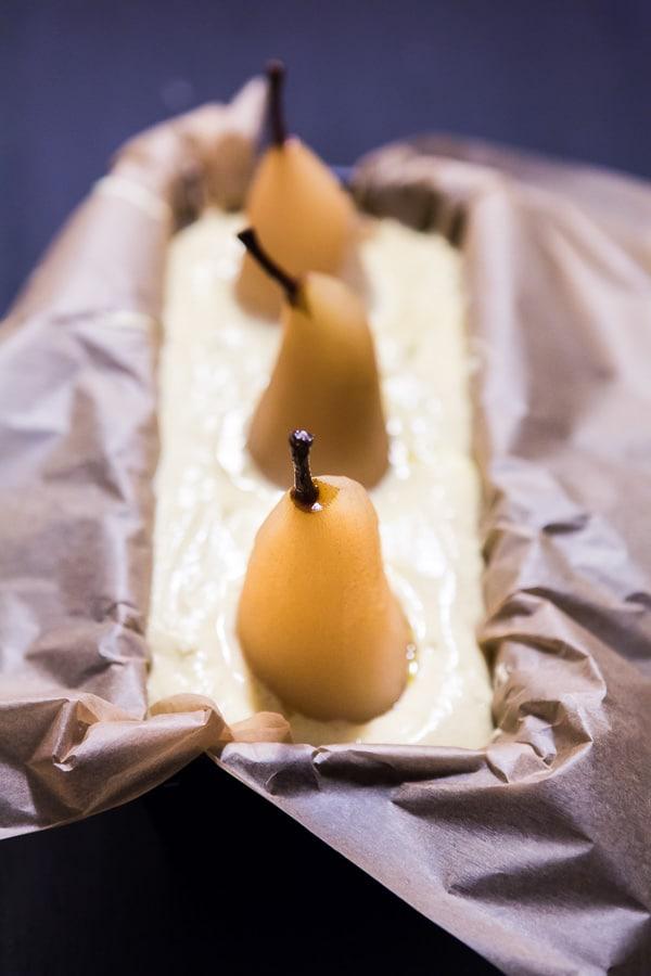 Kardamom-Birnen-Kuchen