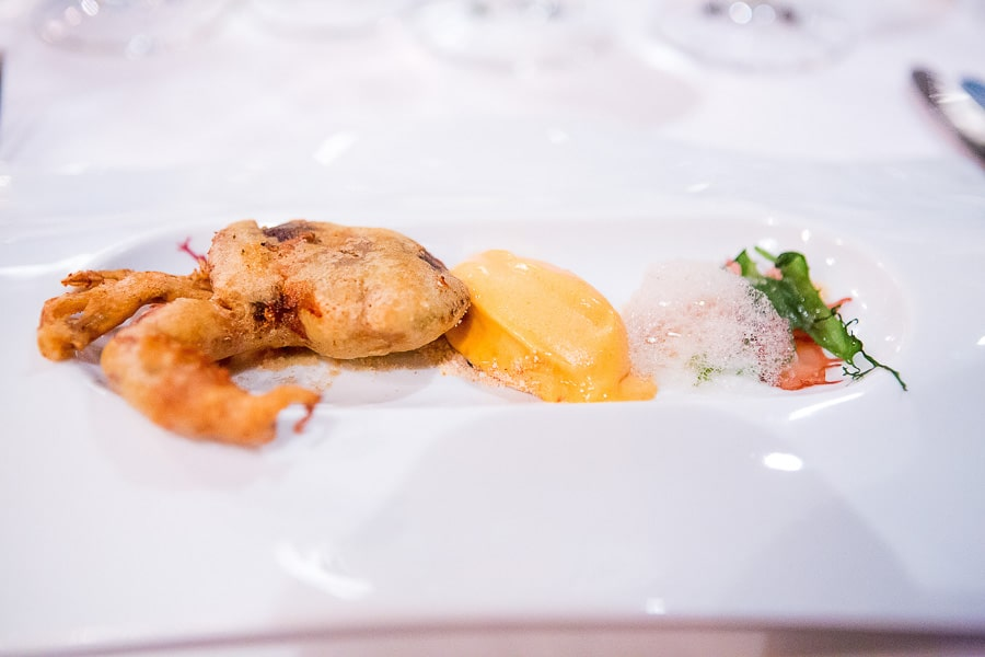 Chili Crab von LG Han aus dem Restaurant
