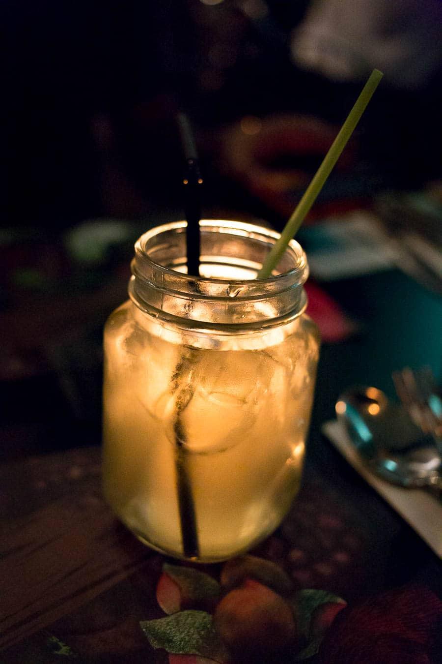 Zitronengras-Pandan-Limonade