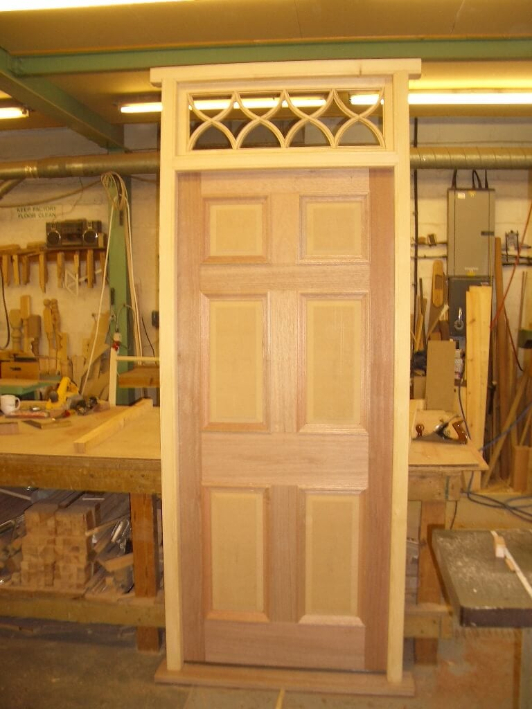 timber door and frame