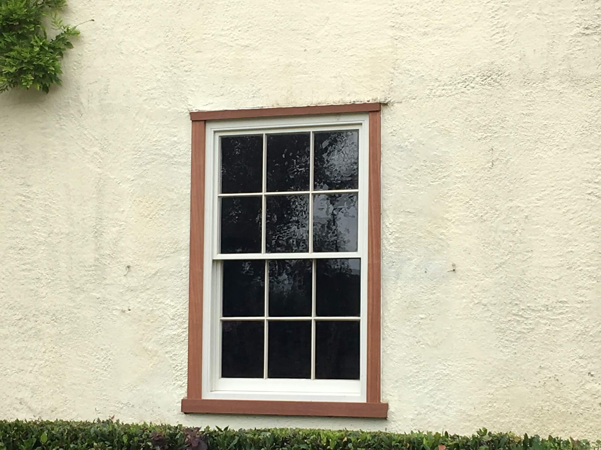 hardwood sash windows