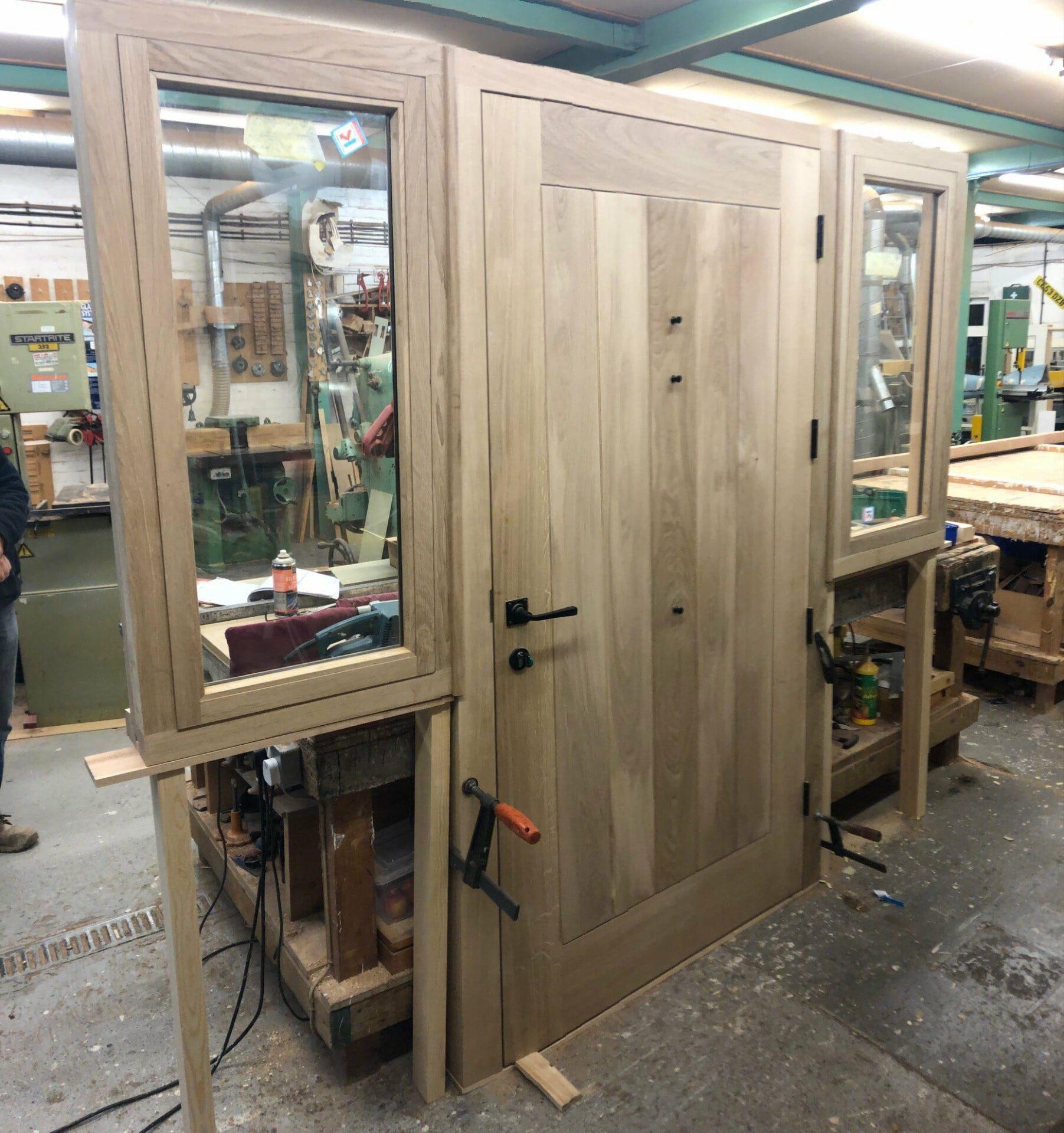 Oak front door 3