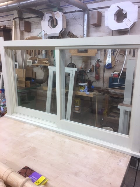 Yorkshire sash window - London 1