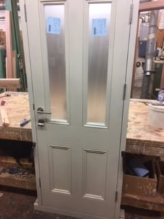 Hardwood Glazed Front Door - Notting Hill - London 1