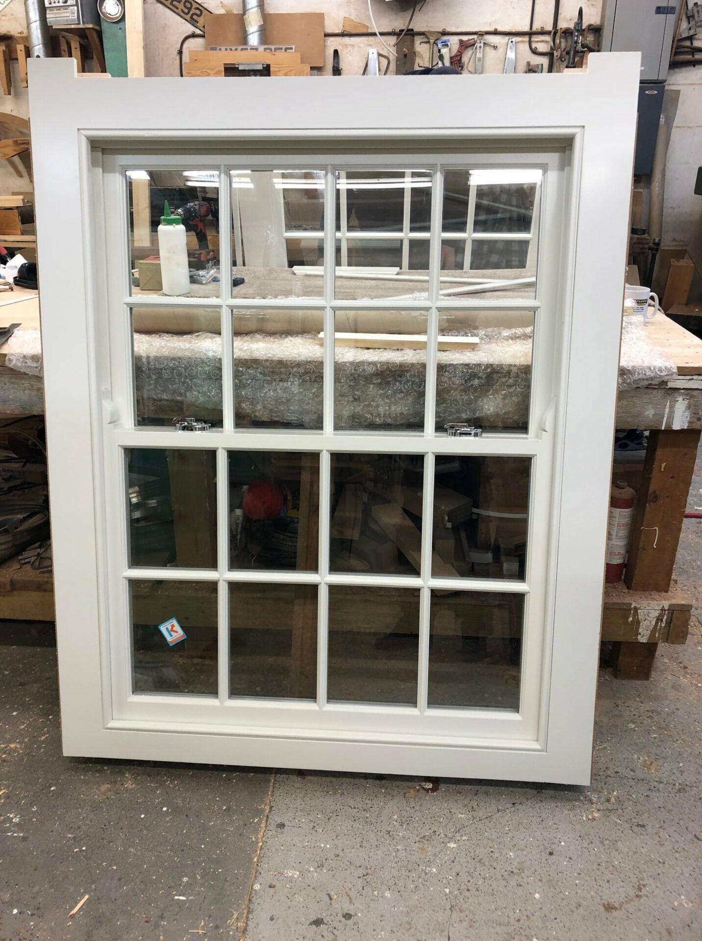 Softwood double glazed Georgian sash windows