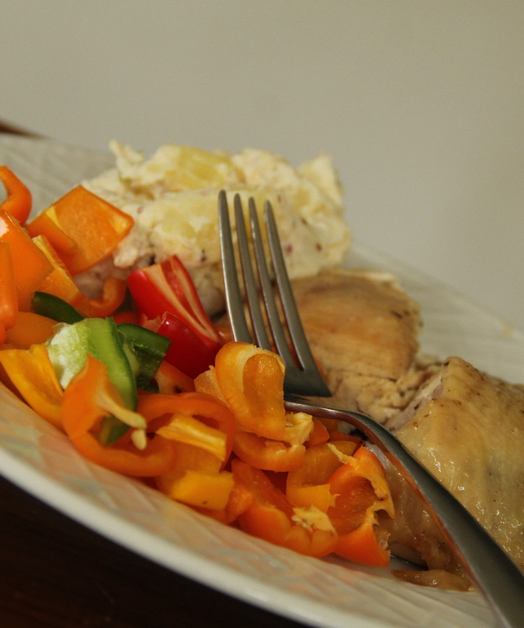pastured broiler chicken meal