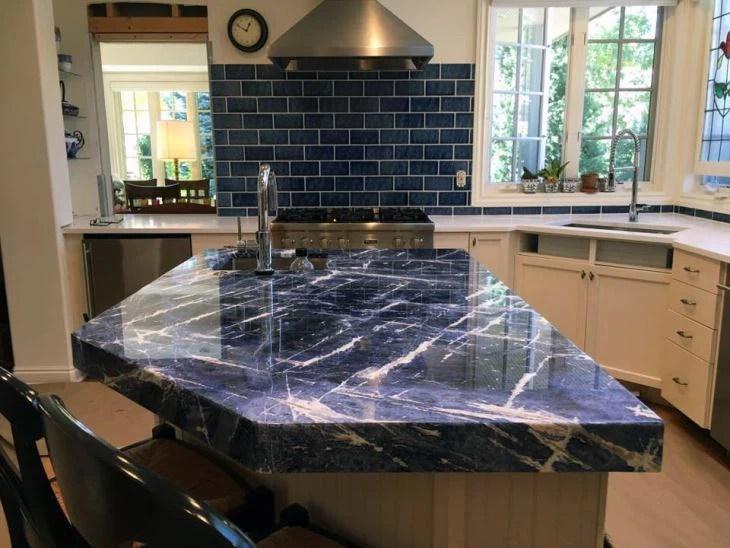 sodalite blue granite floor tiles slabs