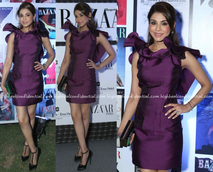 In Lanvin   High Heel Confidential Niamat Bakshi In Lanvin At Harper s Bazaar Anniversary Party